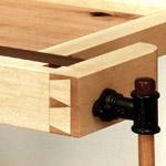 Pete E Michelinie Fine Furniture Workbench