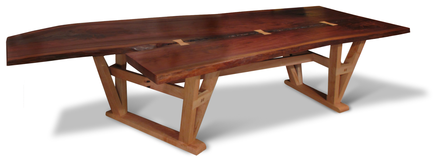Pete E Michelinie Fine Furniture Live Edge Walnut  : liveedgetable from michelinie.com size 1781 x 677 jpeg 472kB