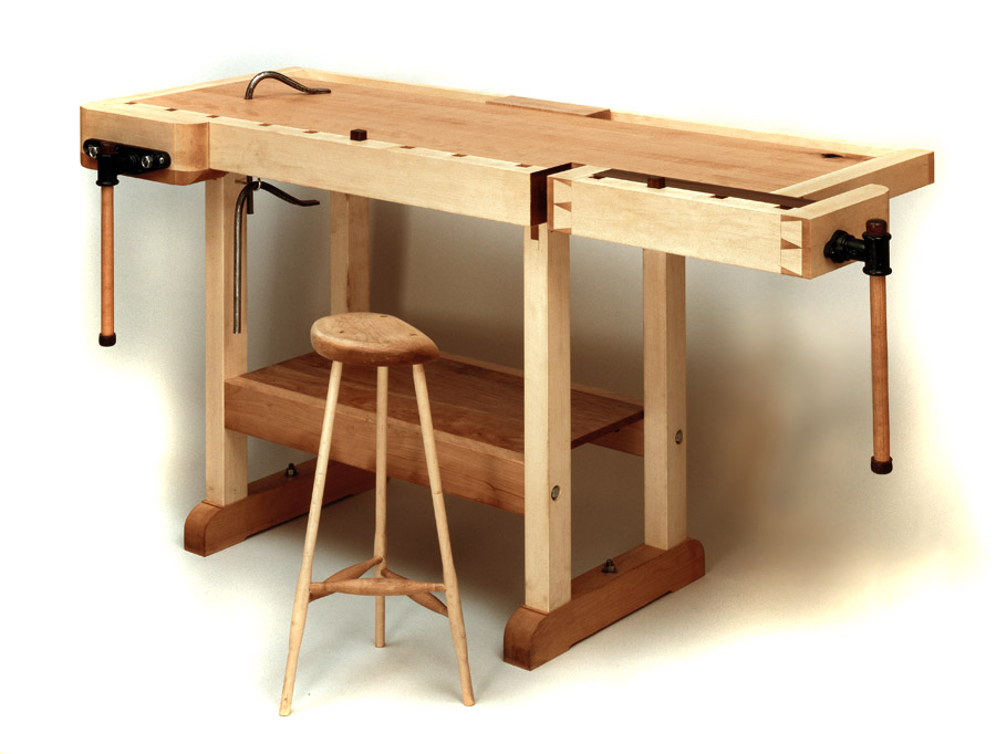 woodworking shop bench height